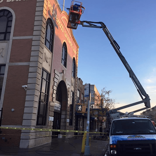 Commercial Pressure Washing in Queens, New York by Monster Wash