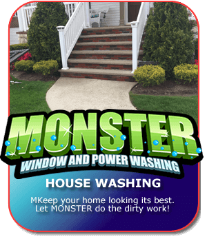 Pressure Washing on Long Island by Monster Wash