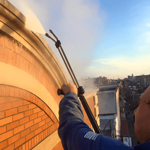 Pressure Washing in Queens, NY by Monster Wash