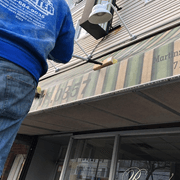Awning Cleaning in Queens, New York by Monster Wash