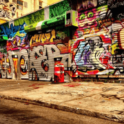 Graffiti Removal in New York City by Monster Wash